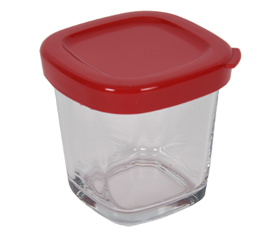Verrine couvercle rouge SS-1530000652