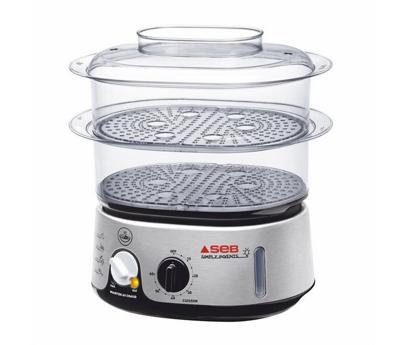 Seb accessoires et pi ces pour cuiseur vapeur simply invents noir inox vc101501 - Cuit vapeur inox seb ...