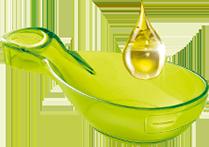 Juste 1 cuillère d'huile