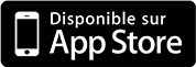 Application disponible sur l'Apple store