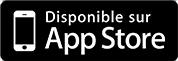 Application disponible sur l'Apple store