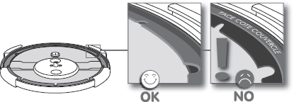Exemple d'insertion du joint X1010004 pour autocuiseur